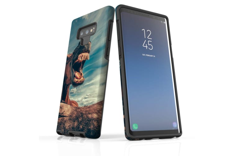 For Samsung Galaxy Note 9 Case  Shielding Back Cover  Horsing Around