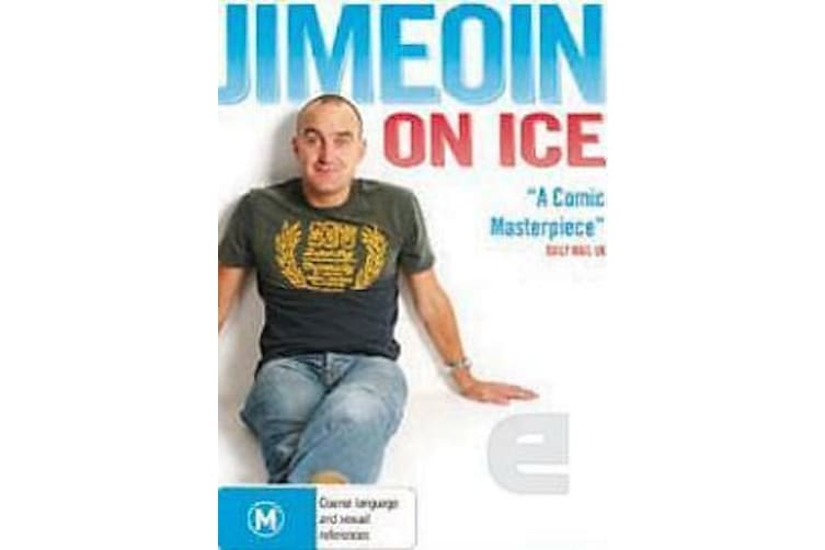 Jimeoin On Ice - Live (2010) -Comedy Rare- Aus Stock DVD PREOWNED: DISC LIKE NEW