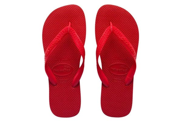 Havaianas Top Thongs (Ruby Red, Brazil 43/44)