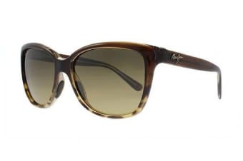 Maui Jim Starfish - Translucent Chocolate With Tortoise (HCL Bronze Polarised lens) Womens Sunglasses