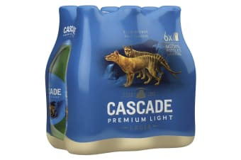 Cascade Premium Light Beer 24 x 375mL Bottles 2.4%