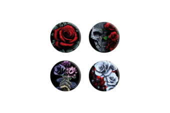 Requiem Collective Cardinal Rose Badge Pack (Black)