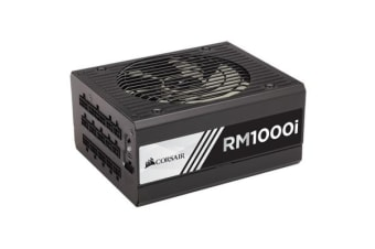 Corsair 1000W RMi 80+ Gold Fully Modular w/Corsair Link 135mm FAN ATX PSU 10 Years Warranty
