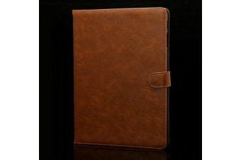 Luxury Leather Smart Case Cover For Samsung Galaxy Tab A 9.7 T550 T551 T555-Brown
