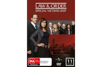 Law and Order Special Victims Unit Season 11 DVD Region 4