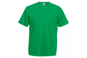 Fruit Of The Loom Mens Valueweight Short Sleeve T-Shirt (Kelly Green)