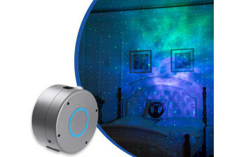 Laser Projector w/LED Nebula Cloud for Game Rooms, Home Theatre, or Night Light Ambiance
