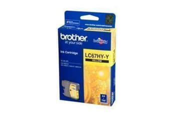 BROTHER Ink Cartridge LC67HYY High capacity Yellow