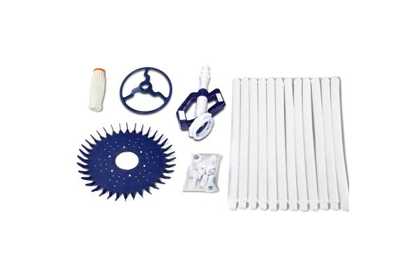 Aquabuddy 10m Swimming Pool Hose Cleaner (White/Navy)