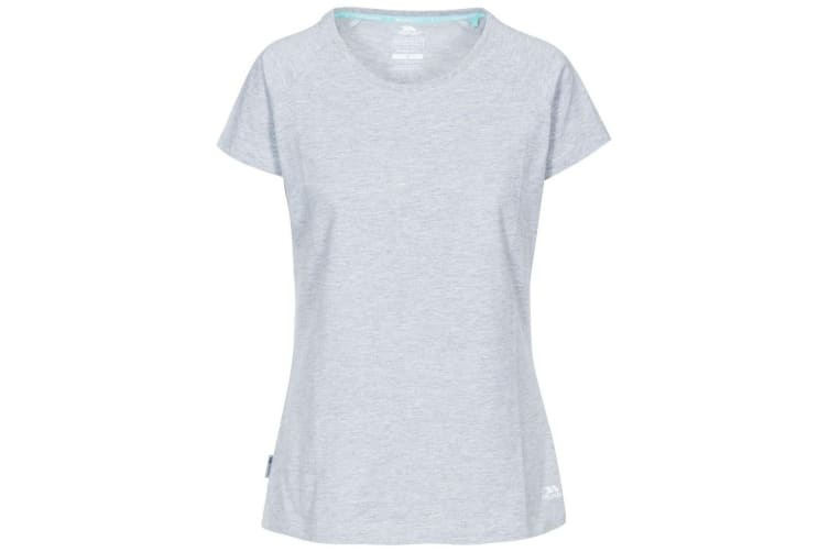 Trespass Womens/Ladies Beinta T-Shirt (Grey Marl) (XXS)