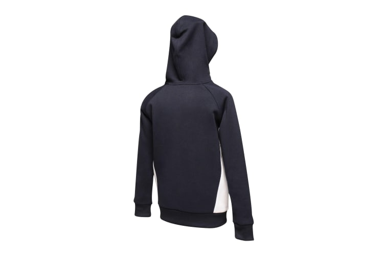 Regatta Childrens/Kids Vancouver Drawcord Hoodie (Navy/White) (9-10 Years)