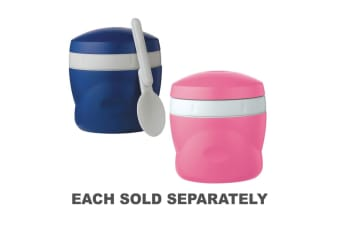 Thermos Cold Storage 240mL Insulated Snack Jar (Pink or Blue Random)