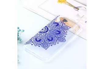 Transparent Varnish Painting Soft TPU Case For iPhone XR National Customs