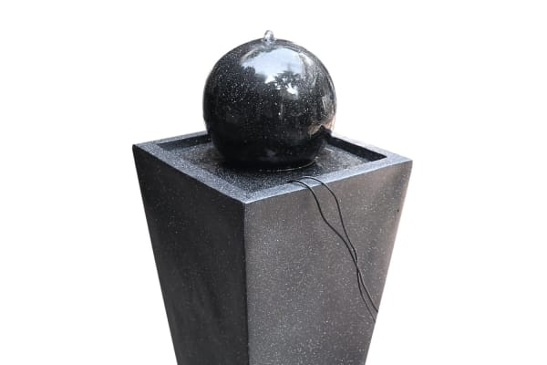 Fountain Ball with Solar Panel