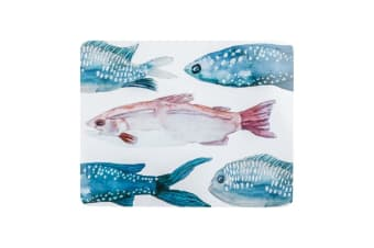Madras Link Fish Rectangle Placemat Set of 4