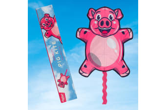 `Pigs Will Fly` Giant Novelty Pig Kite With Carry Case | Pigs DO Fly!