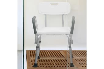 Orthonica Medical Shower tub Chair with Backrest Armrest Seat