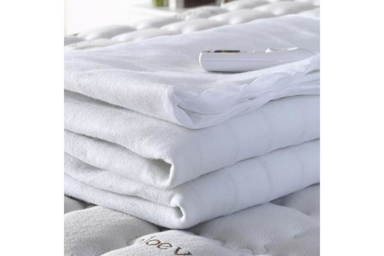 Polyester Fully Fitted Heated Electric Blanket King