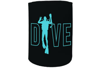 123t Stubby Holder - OW Dive SCUBA DIVING - Funny Novelty