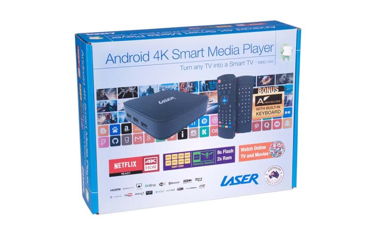 Laser Octa-core Android Smart Media Player UHD HDR 4K2K (MMC-X40)