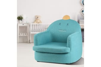 Artiss Kids Sofa Toddler Couch Lounge Chair Children Armchair Fabric Furniture