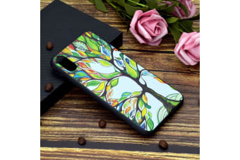 For iPhone XS Max Cover Thin Shielding Back Shell Mobile Phone Case Tree of Life