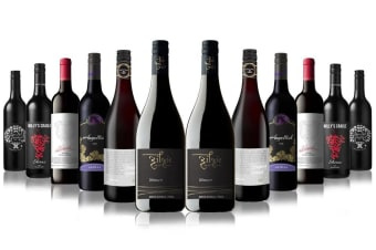 Premium Red Wines Showcase Mixed - 12 Bottles
