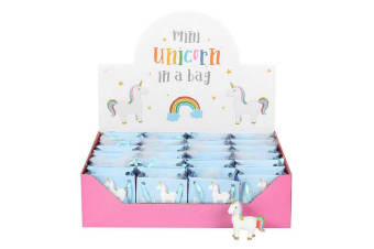 Something Different Standing Rainbow Unicorn In Mini Bags (Set Of 24) (Multicoloured) (One Size)