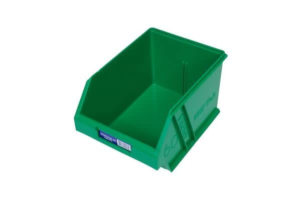 Fischer Plastic Medium Storage Drawer Green
