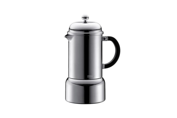 Bodum Chambord Stainless Steel Stove Top Espresso Maker - 350ml/6 Cup (10617-16)