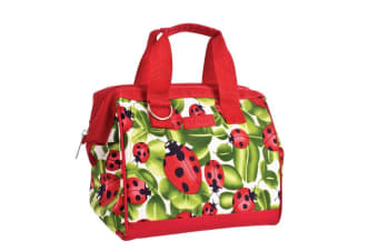 New Sachi Portable Insulated Lunch Bag Case StorageTravel Bag Lady Bug