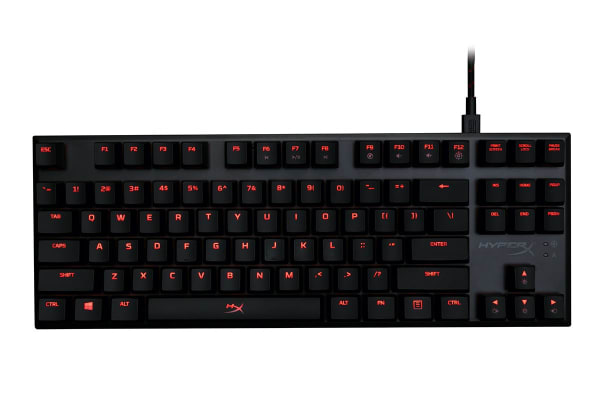 HyperX Alloy FPS Pro Mechanical Red LED Gaming Keyboard (Cherry MX Red)