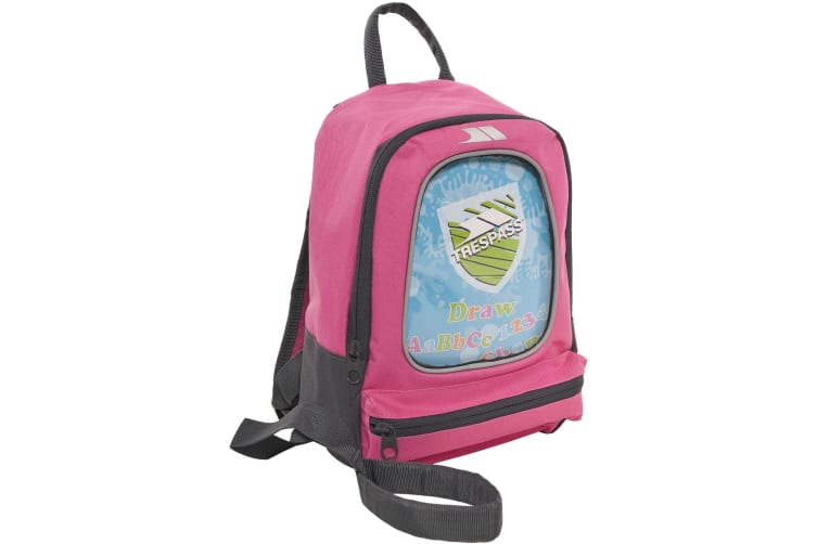 Trespass Childrens/Kids Picasso Drawing Rucksack/Backpack (5 Litres) (Pink) (One Size)