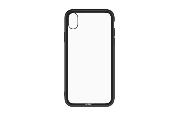 Cygnett Ozone 9H Tempered Glass Case for iPhone  Xs & X - Black (CY2638OZONE)