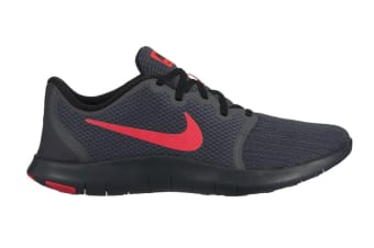 Nike Flex Contact 2 (Dark Grey/Red, Size 9.5 US)