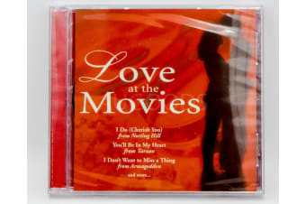 Love at the Movies BRAND NEW SEALED MUSIC ALBUM CD - AU STOCK