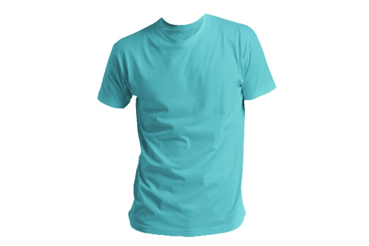 SOLS Mens Regent Short Sleeve T-Shirt (Aqua) (3XL)