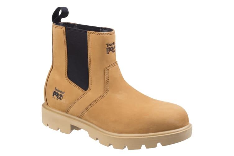 Timberland Pro Mens Sawhorse Dealer Slip On Safety Leather Boots (Wheat) (12 UK)