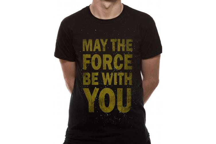 Star Wars Unisex Adults The Force T-Shirt (Black) (S)