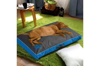 PaWz Pet Bed Mattress Dog Cat Pad Mat Summer Winter Cushion Pillow Soft Washable  -  1 PCSBlueXL
