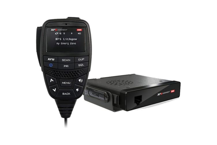 80Ch Uhf Xrs Connect Cb Radio Compact Hideaway Unit - Gme