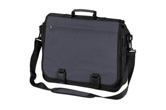Bagbase Portfolio Briefcase Bag (15 Litres) (Graphite) (One Size)