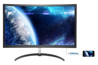 "Philips 27"" FHD 1920 x 1080 X-Series Curved Monitor with FreeSync (279X6QJSW)"