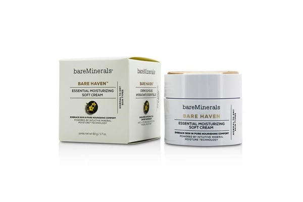 Bare Escentuals Bare Haven Essential Moisturizing Soft Cream - Normal To Dry Skin Types (50g/1.7oz)