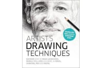 Artist's Drawing Techniques - Discover How to Draw Landscapes, People, Still Lifes and More, in Pencil, Charcoal, Pen and Pastel