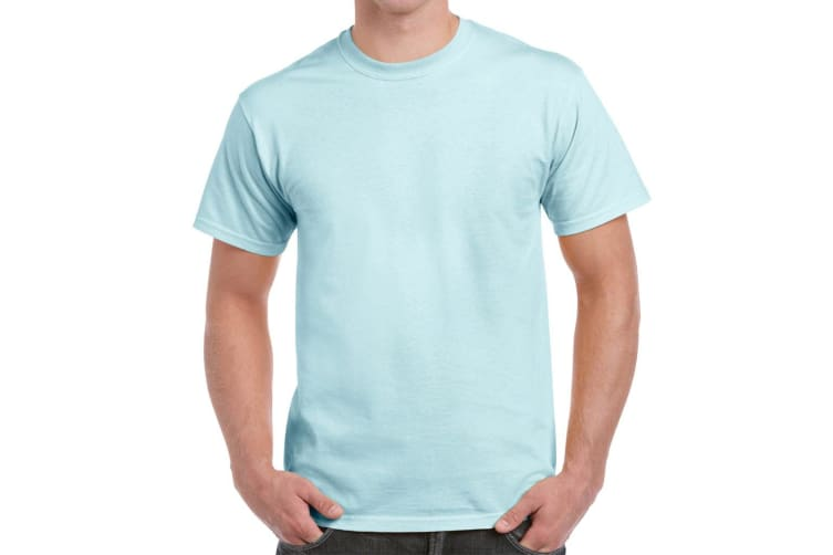 Gildan Mens Hammer Heavyweight T-Shirt (Chambray) (XXL)