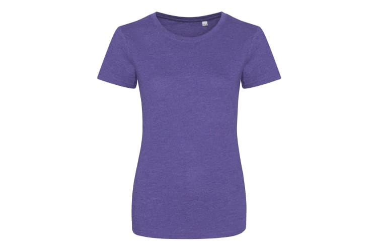 AWDis Womens/Ladies Girlie Tri-Blend T-Shirt (Heather Purple) (XL)