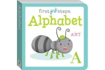 First Steps Large Board Book - Alphabet