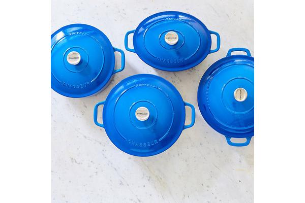 Chasseur Round French Oven 24cm - 3.8L Imperial Blue