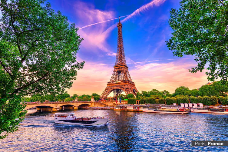 EUROPE: 25 Day European Discovery Tour Including Mediterranean Cruise & Flights for One (Oceanview Cabin)
